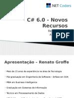 C# 6.0 - Novos Recursos