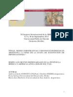 Redes Corporativas y Grupos Economicos en Argentina