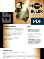 Epic PVP rulebooks (Kickstarter)