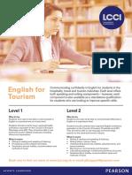 English for Tourism Web