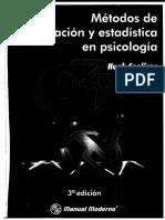 Metodos de Investigacion y Estadistica en Psicologia - Coolican