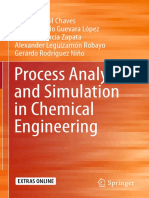 Process Analysis and Simulation in Chemical Engineering(2015)