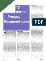 Updating Internal Process Documentation