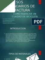 Procesos Secundarios de Manufactura Expo