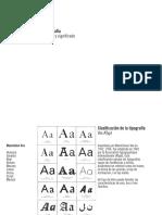 Tipografia - Forma y Significado