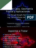 Conferencia Fractales Fundación Universitaria Konrad Lorenz