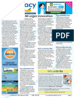 Pharmacy Daily for Wed 10 Feb 2016 - ASMI urges innovation, New cannabis legislation, Sussan Ley at APP2016, Health AMPERSAND Beauty and much more