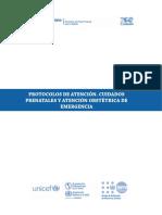 Protocolo de atención obstetrica Vzolano