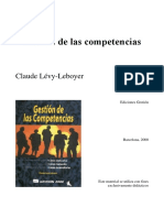 Gestion de Las Competencias-Claude Levy