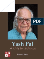 Yash Pal. A Life in Science by Biman Basu