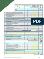 Buildability Score Calculation