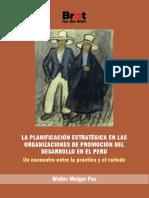 La Planificación Estratégica en las organizaciones de promoción del desarrollo en el Perú. Un encuentro entre la práctica y el método