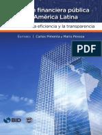 Gestion Financiera Publica en America Latina La Clave de La Eficiencia y La Transparencia