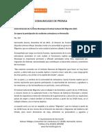 02-12-15 Invita Dirección de Turismo Municipal a Festival Cultural Del Migrante 2015