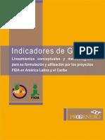 Indicadores de Genero, Lineamientos conceptuales y metodológicos para su formulación y utilización por los proyectos FIDA de América Latina y el Caribe