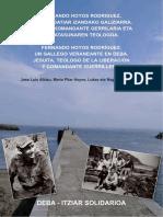 Fernando Hoyos, gallego veraneante en Deba, jesuita, teólogo de la liberación, comandante guerrillero