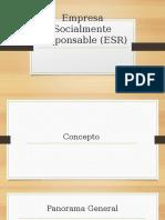 Empresa Socialmente Responsable (ESR)