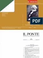 Frank Engster – Jan Hoff, La recente lettura di Marx nei paesi di lingua tedesca