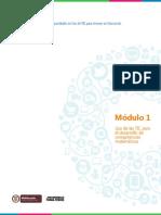Modulo 1_Uso de Las TIC Para El Desarrollo de Competencias Matemáticas