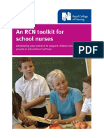 School Nursing- Assessment Tool