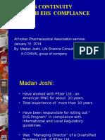 Presentation by Mr. Madan Joshi Seminar on Matrix