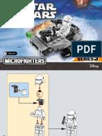 75126 Lego Starwars Micro Fighters