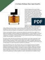 5 Tips Para Escoger Un Buen Perfume Para Cada Ocasión