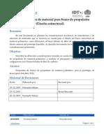 P55_M4_D05 Diseño y Selección de Material Para Brazo de Propulsión (Diseño Estructural)