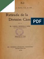 Retirada de La División Camus. (1915)