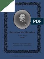 Retratos de hombre. 1840-1940. (2015)