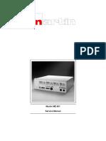 Electrosurgical Unit MARTIN ME 401 - Service Manual