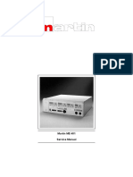 Electrosurgical Unit MARTIN ME 401 - Service Manual