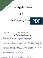 Regular Pumping Examples