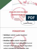 Analisa Dan Validasi Indikator Mutu Autosaved (2)