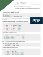 SQL Full Joins Sederhanan