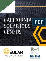 California Solar Jobs Census 2015