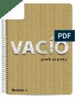 Vacio Actividad didáctica