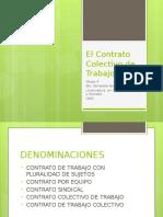 Diapositivas Contrato Colectivo de Trabajo