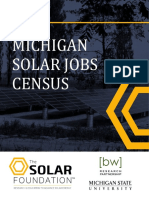 Michigan Solar Jobs Census 2015