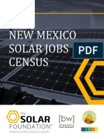New Mexico Solar Jobs Census 2015