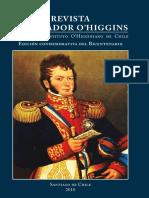 Revista Libertador O'Higgins. Órgano Del Instituto O'Higginiano de Chile. Edición Conmemorativa Del Bicentenario. (2010)