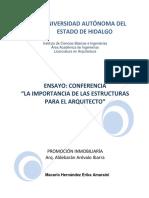 Ensayo Conferencia (Promoción)