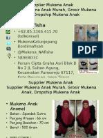 085.3366.415.70 (Telkomsel)   Supplier Mukena Anak Murah