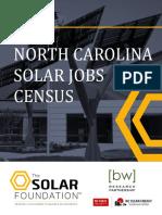 North Carolina Solar Jobs Census 2015