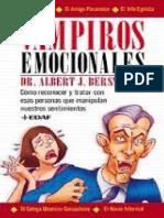 Emocional Vampiresss - Albert J. Bersnstein