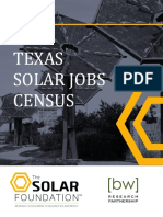 Texas Solar Jobs Census 2015
