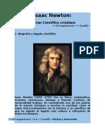Isaac Newton y Su Aporte a La Teologia