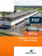 Wartsila Power Plants Solutions 2014 Brochure