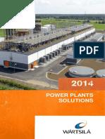 Wartsila Power Plants Solutions 2014 Brochure