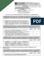 Ficha de Evaluacion de Desempeño